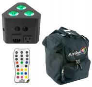 Chauvet DJ Lighting Wedge Tri Multi Color LED Wash Triangular Truss Accent Light with Arriba Trav...