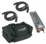 Chauvet DJ Lighting PRO-D6 On / Off Dimmer 6 Channel Switch Relay Pack with (2) DMX Cables & ...