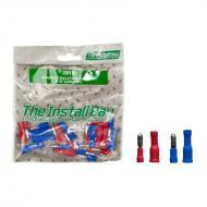 Install Bay IBR18 Assorted Bullet 22/18GA & 16/4GA 1 Bag of 24 Pcs Polybag Retail Packed Hard...