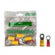 Install Bay IBR21 1 Bag of 8 Pcs Polybag Retail Packed Hardware Assorted Rings Large Gauge Vinyl