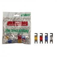 Install Bay IBR28 Assorted Mini ANL Fuses 40-80 Amp Polybag Retail Packed Hardware 1 Bag of 8 Pcs