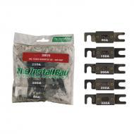 Install Bay IBR29 Polybag Retail Packed Hardware Assorted ANL Fuses 80-300 Amp 1 Bag of 6 Pcs