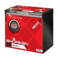 Shuriken SK-BT60 Compact Size AGM Technology 1500W / 60 AMP 12V Car Battery