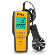 Pyle PMA90 Digital Anemometer / Thermometer - Air Velocity Flow & Temperature