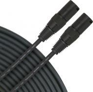 Accu Cable AC3PDMX10PRO Top Quality Black Rugged 10-Foot 3-Pin Pro DMX Cable