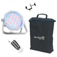 American DJ Jelly Go Par 64 RGBA Battery Powered LED Wash Light with RFC Remote, Clamp & Arri...