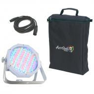 American DJ Jelly Go Par 64 RGBA Battery Powered LED Wash Light with Clamp & Arriba Bag