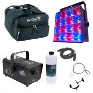 American DJ Freq Matrix Quad Color RGBW 16 Zone Strobe Chase Light with Travel Bag,  Clamps, Cabl...