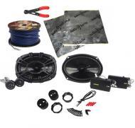 "Kicker CSS694 Car Audio 6x9"" Component 450 Watt Pair Speakers with Door Kit, Wire Stripper T..."