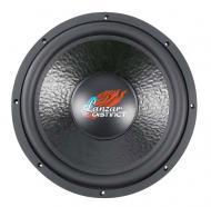 Lanzar DCT154D 15 In Distinct Series Die Cast Aluminum Basket Car Subwoofer