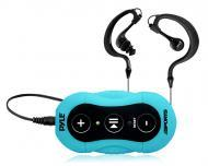 Pyle Sport PSWP20BL Surf Sound Water Sports MP3 Player w/ Headphones - Blue