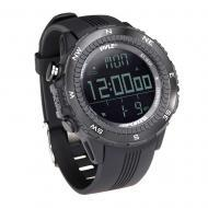 Pyle Sport PSWWM82BK Digital Multifunction Sports Watch with Compass - Black