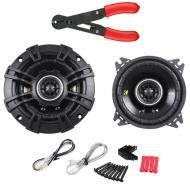 "Kicker CS44 Car Stereo 4"" Coaxial 150 Watt Full Range Pair Speakers with Wire Stripper Tool"
