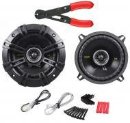 "Kicker CS54 Car Stereo 5.25"" Coaxial 225 Watt Full Range Pair Speakers with Wire Stripper Tool"