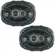 "Kicker 40CS6934 Car Audio Triaxial 6x9"" Speakers CS693 (Certified Refurbished)"