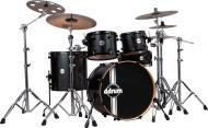 Ddrum REFLEX RSL 22 5 PC BKS Reflex Series Alder Shell Drum Kit w/ Faceoff Lugs
