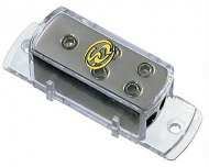 Sound Quest SQVLD48 Value Series Power Distribution Block with Satin Silver Finish