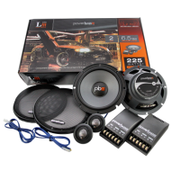 """Powerbass L2-6C 6.5""""Component System with 2-Ohm Midrange & 3-Ohm Tweeter"""
