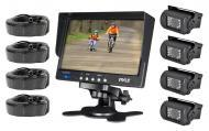 "PYLE PLCMTR74 Complete Rearview Backup Weather Proof Camera w/ 7"" Monitor"