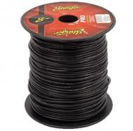 Stinger SPW314BK Car Audio 14 Gauge Power or Ground Single Conductor Black Wire - 500Ft Cable Roll