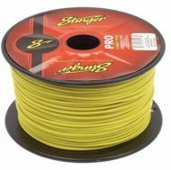 Stinger SPW316YL Car Audio 16 Gauge Power or Ground Single Conductor Yellow Wire - 500Ft Cable Roll