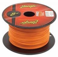 Stinger SPW318OR Car Audio 18 Gauge Power or Ground Single Conductor Orange Wire - 500Ft Cable Roll