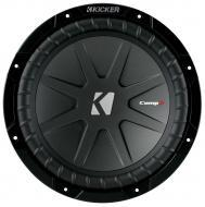 "Kicker Audio CWR10 CompR 10"" Car Sub Woofer Speaker 2-Ohm DVC 1200W Peak (40CWR102) - Limite..."