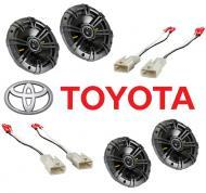 Toyota 4 Runner 1989-1995 Kicker Factory Coaxial Speaker Replacement CS44 & CS54 Package