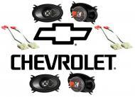 Chevy CK Silverado 88-94 Extended Cab Truck Kicker Factory Speaker Replacement (2) KS46 Package