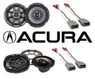 Acura TL 2004-2008 Kicker Factory Coaxial Speaker Replacement KS65 & KS693 Package