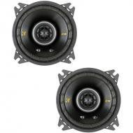 "Kicker 40CS44 Car Audio Coaxial 4"" Speakers Pair CS4 (Certified Refurbished)"