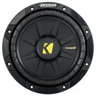 Kicker CWD8 CompD 8-Inch DVC 4 Ohms Subwoofer 400W Power Peak 200-Watts RMS Rip-Resistant & Q...