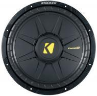 Kicker CWS15 Pro-Fit 15-Inch SVC 4 Ohm Subwoofer 1200W Peak Power 600-Watts RMS Quad Venting w/ V...
