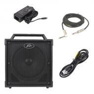 "Peavey Nano Vypyr Battery Powered Combo Amp 8"" Portable Guitar Amplifier with 1/4"" Inst..."