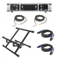 Peavey Tour 700 Bass Power Amplifier Head 700 Watt Speaker Amp with (2) Speakon Cables, (2) 1/4&q...