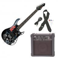 Peavey Rockmaster Full Size The Walking Dead - OmniV4 Electric Guitar with Cable, Picks, Strap &a...