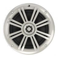 "Kicker KM604W 6.5"" Speakers 4-Ohm KM-Series White Marine Coaxial (41KM604W)"