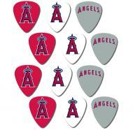 Peavey MLB Baseball Los Angeles LA Angels Electric Guitar 12 Pack Logo Picks