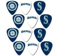 Peavey MLB Baseball Seattle Mariners Electric Guitar 12 Pack Logo Picks