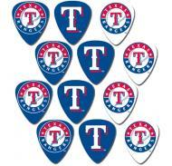 Peavey MLB Baseball Texas Rangers Electric Guitar 12 Pack Logo Picks