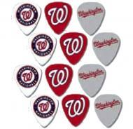 Peavey MLB Baseball Washington Nationals Electric Guitar 12 Pack Logo Picks