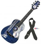 Peavey MLB Los Angeles Dodgers Team 1/2 Size Real Wood Acoustic Guitar (3022800)