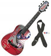 Peavey MLB Philadelphia Phillies 1/2 Size Easy-to-Play Acoustic Guitar (3022790)