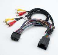 PAC GMRVD2 Overhead LCD Monitor Retention Cable with Rear Seat Entertainment