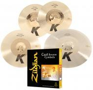 "Zildjian KCH390 K Custom Series Hybrid Box Set Includes 14.25""Hi-Hat 17"" Crash & 21..."