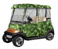 Armor Shield 2 Passenger Golf Cart 4 Sided Enclosure Camouflage Color w/ Included Carry Case