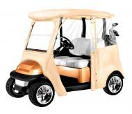 Armor Shield Club Car Precedent Golf Cart Custom Enclosure Olive Color w/ Included Carry Case