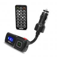 Pyle PBT94 Bluetooth Hands Free FM Radio Transmitter w/ Microphone for Hands-Free Calling