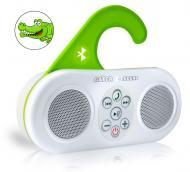 Pyle Home PSBT25WT Gator Sound Waterproof Bluetooth Shower Speaker White Color w/ Hands-Free Call...