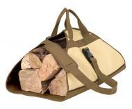 "Armor Shield Firewood Log Rack Carrier 40"" x 25"" w/ Protective Dark Splash Guard Skirt"
